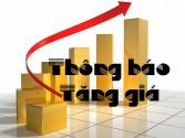 Thông báo tăng giá các sản phẩm của Tập Đoàn Kangaroo
