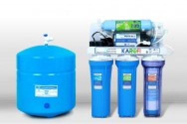Máy lọc nước Karofi 8 lõi lọc không tủ (bình áp thép)